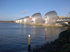 The London River Thames flood barrier